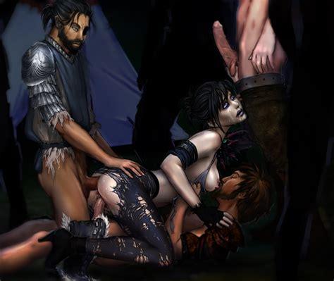 1283198 Dragon Age Origins Kassandra Morrigan Warden Wayward