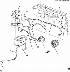 Chevrolet Silverado Cable  Battery Negative And Engine Ground  Cable  Bat Neg Acdelco