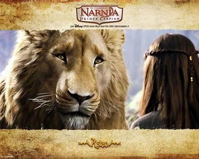 Narnia Aslan Chronicles Wallpapers Lion Caspian Prince
