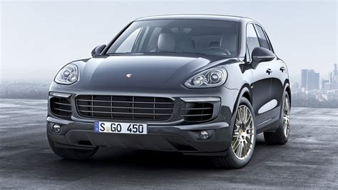 Meet The New Porsche Cayenne Platinum Edition