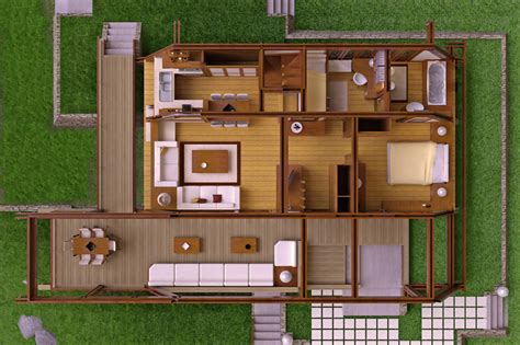 modern wood house plans tradition  contemporary lines