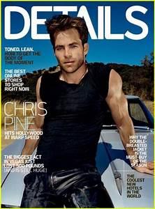 Chris Pine On Details Magazine November 2010