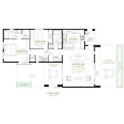 2 bedroom cottage plans modern 2 bedroom house plan