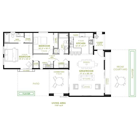 one modern house plans modern 2 bedroom house plans photos and
