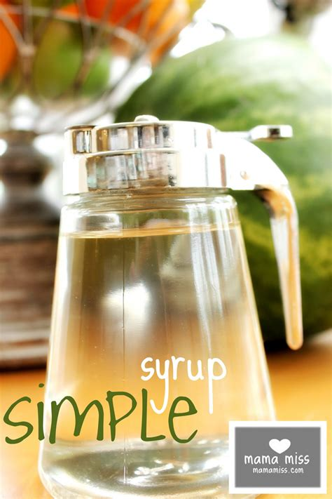 simple syrup mama