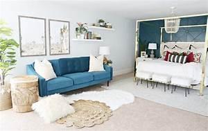 Modern, Ranch, Reno, Master, Bedroom, Sofa