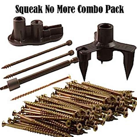 This House Squeaky Floor Screws by Squeeeeek No More Counter Snap Combo Pack Fix Squeaky