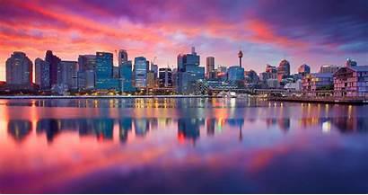 4k Ultra Sydney Dawn Cityscapes
