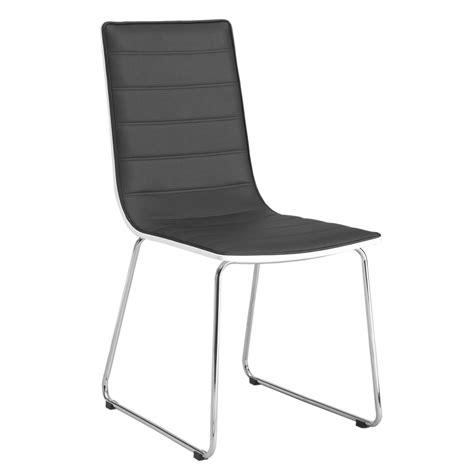 stoel zwart wit stoelen glans wit zwart beste inspiratie voor huis ontwerp