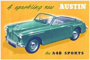 Sparkling Austin A40 Sports