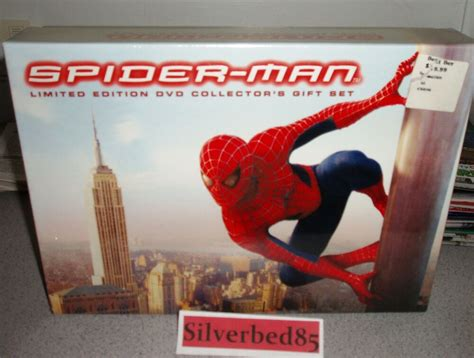 Spider-man Dvd 2002 3-disc Box Set Limited Edition