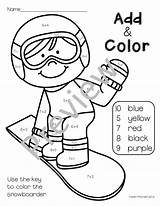Winter Sports Olympics Coloring Pages Math Patterns Sport Preschool Themed Practice Graphing Olympic Theme Activities Printables Extending Kindergarten Teacherspayteachers Worksheets sketch template