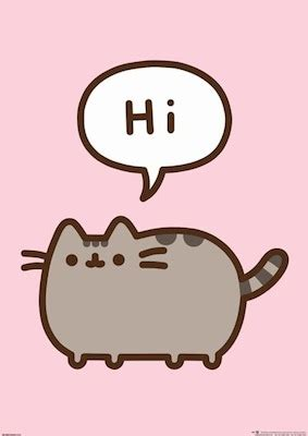 Pusheen Hi Regular Poster (01-7028