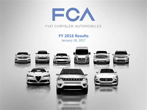 Fiat And Chrysler by Fiat Chrysler Automobiles Nv 2016 Q4 Results Earnings
