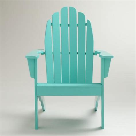 baltic blue classic adirondack chair world market