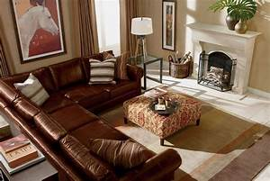ethan allen richmond leather sectional living room With ethan allen richmond sectional sofa