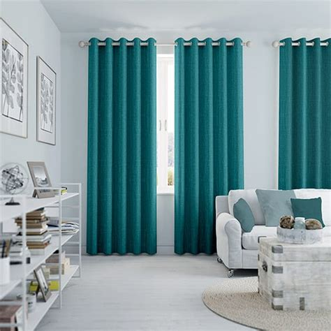 Blue Draperies - cavendish caribbean blue curtains