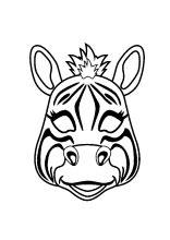 Verschieden große sterne als malvorlage zum ausdrucken und ausmalen für kinder. Masken Basteln - Maskenvorlagen PDF drucken in 2020 (mit ...