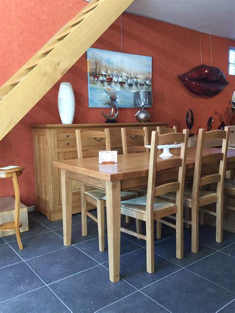 meubles salle a manger bois massif salle 224 manger rustique 100 ch 234 ne massif honfleur meubles gibaud