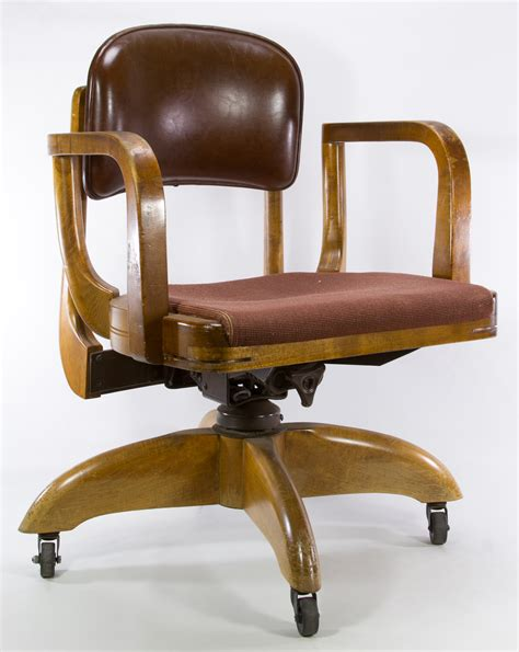 w h gunlocke chair company mid century modern office chair by w h gunlocke chair