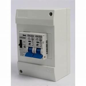 Disjoncteur Pour Chauffe Eau : coffret chauffe eau 1 disjoncteur 2a 1 disjoncteur 20a ~ Dailycaller-alerts.com Idées de Décoration
