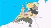 Topografie Provincies, hoofdsteden en wateren van ...