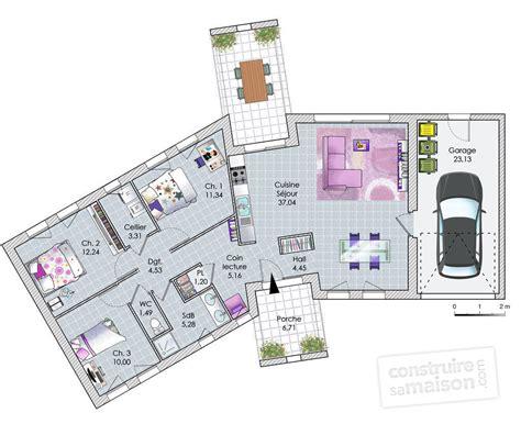 plan cuisine tunisienne une grande maison contemporaine dé du plan de une