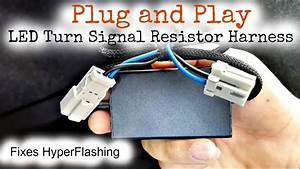Plug And Play Turn Signal Led Resistor Wire Harness