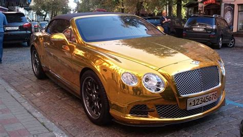 bentley metallic man with gold bentley learns lesson after 80 parking ticket