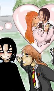 Snape's Daydream - Severus Snape & Lily Evans Fan Art ...