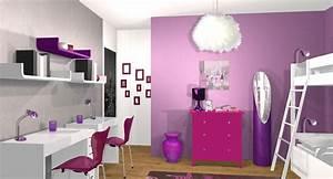 Chambre Ado Fille 12 Ans : chambre fille 12 ans ides de chambre ado fille 12 ans ~ Voncanada.com Idées de Décoration
