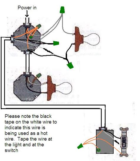 hooking up a light switch how to hook up two vanity lights on one switch