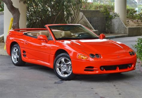 1996 Mitsubishi 3000gt by 25k Mile 1996 Mitsubishi 3000gt Vr4 Spyder For Sale On Bat