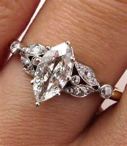vintage marquise engagement rings marquise cut marquise cut and on