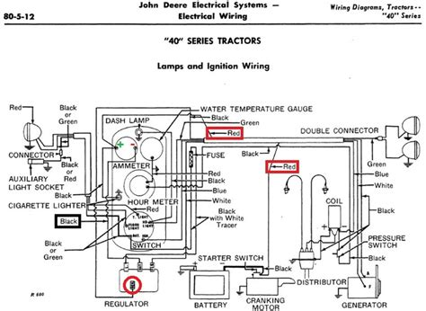 Deere 520 Wiring Diagram by Jd 40t Won T Turn Not Yesterday S Tractors