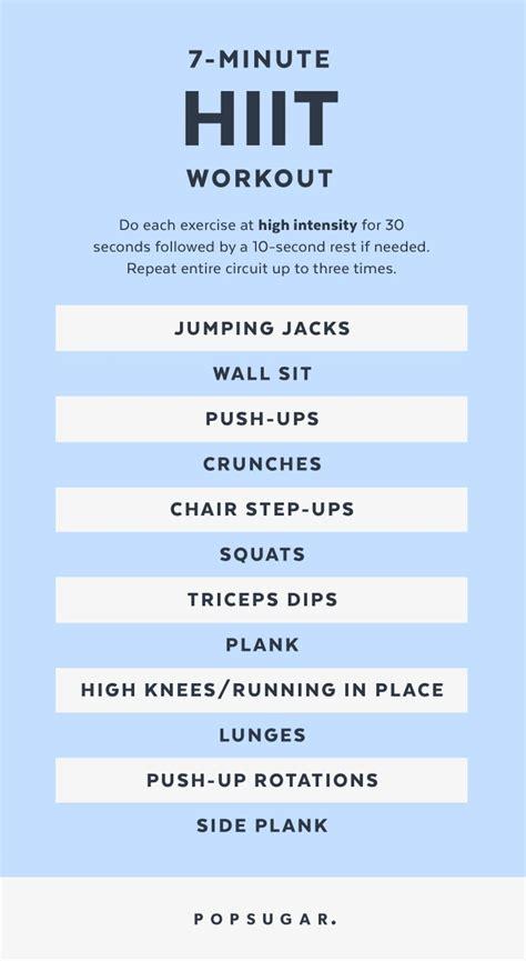 minute workout popsugar fitness australia