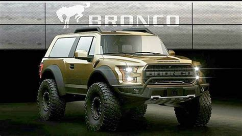 ford bronco spy  specs release date concept