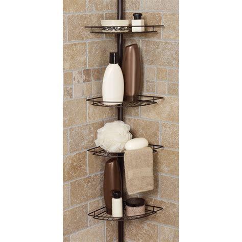 zenith tub  shower tension pole caddy shower  bath