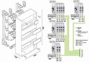 Schema Cablage Tableau Electrique Maison : schema d un tableau electrique fu37 jornalagora ~ Dailycaller-alerts.com Idées de Décoration