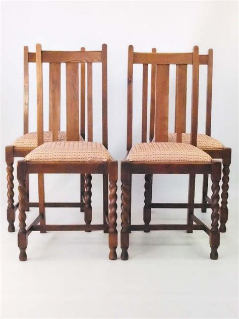 oak dining chairs antique set 4 vintage oak dining chairs circa 1920s 3566