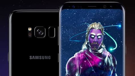 fortnite skin galaxy offert sur samsung galaxy note