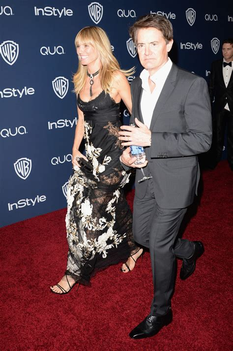 Kyle Maclachlan Arrivals The Instyle Warner Bros