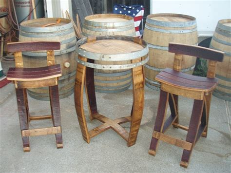 pdf diy wine barrel furniture plans variety of