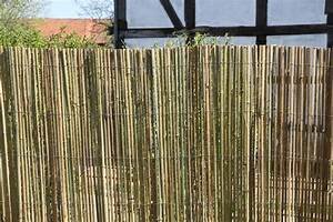 Bambusmatte Sichtschutzzaun Sichtschutz Bambus Zaun