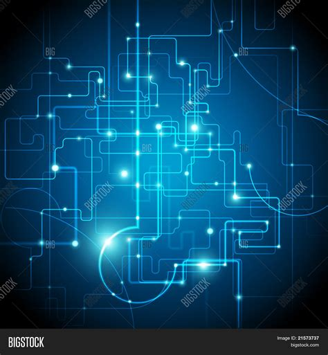 Circuit Board Vector Photo Free Trial Bigstock