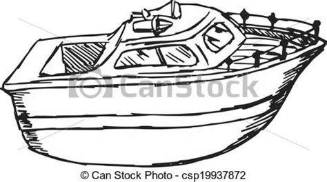 motor boat clipart black and white vectors illustration of motor boat