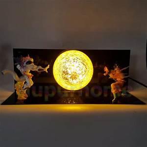dragon ball z son goku vs freeza led night lights table With dragonball z table lamp