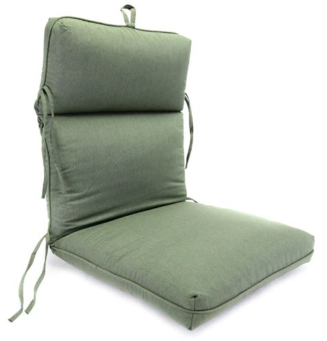 Grand Resort Outdoor Furniture Replacement Cushions by Grand Resort Chaplin Green Chair Cushion Featuring