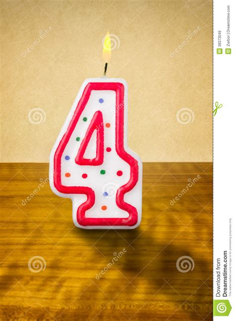 birthday candle number  royalty  stock images image