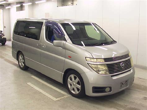 Nissan Elgrand Hd Picture by 2003 Nissan Elgrand E51 Pictures Information And
